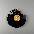 """""""HORROR"""" VINYL clock"""